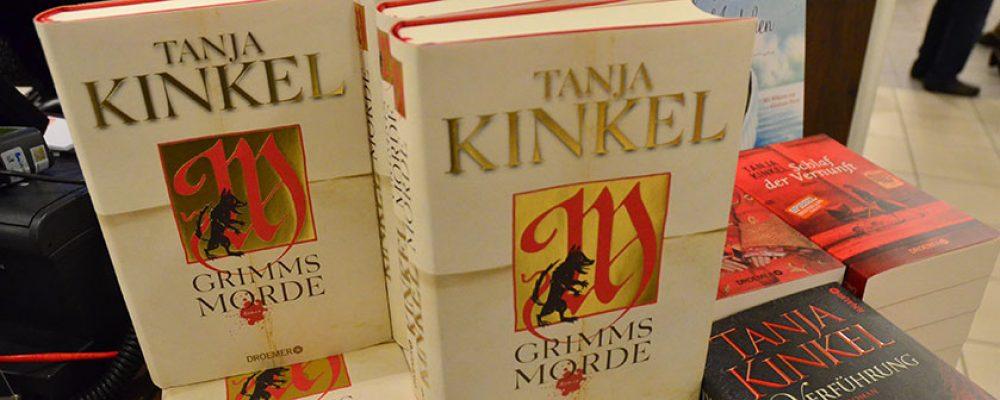 """Premierelesung Tanja Kinkel""""Grimms Morde"""""""