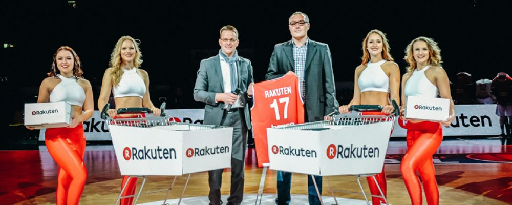 Rakuten.de neuer Gold-Sponsor von Brose Bamberg