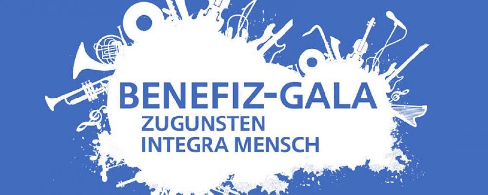 Benefiz-Gala zugunsten von integra MENSCH