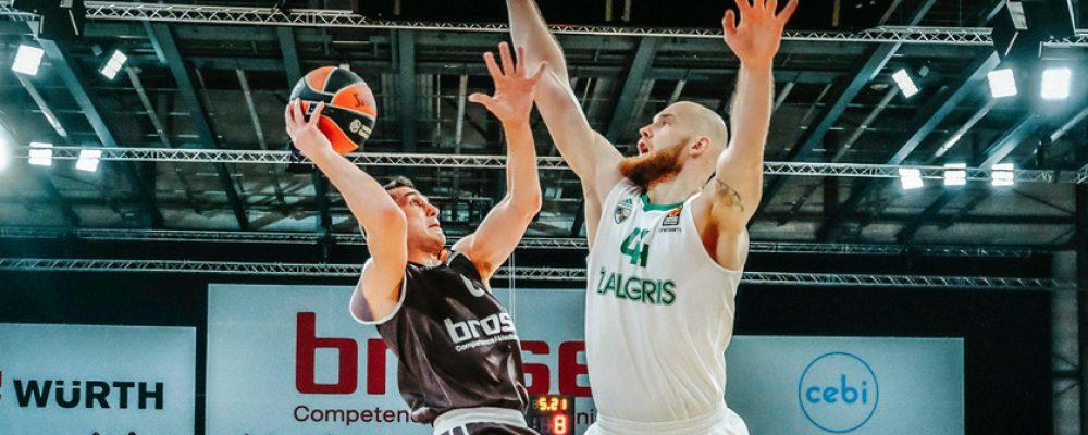 93:86 gegen Kaunas! Brose schafft den Befreiungsschlag