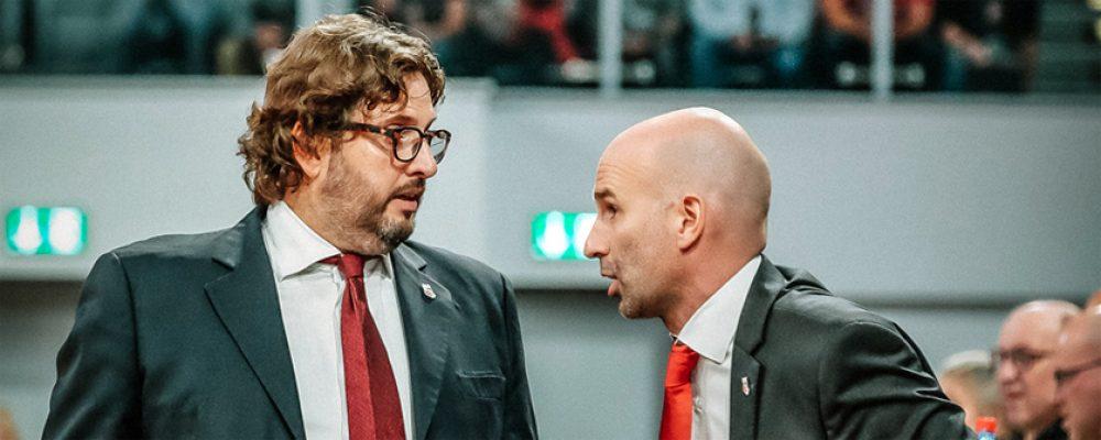 Offiziell: Brose Bamberg setzt Andrea Trinchieri vor die Tür