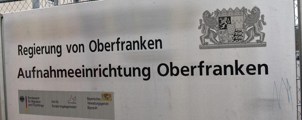 Rundgang in der Aufnahmeeinrichtung Oberfranken