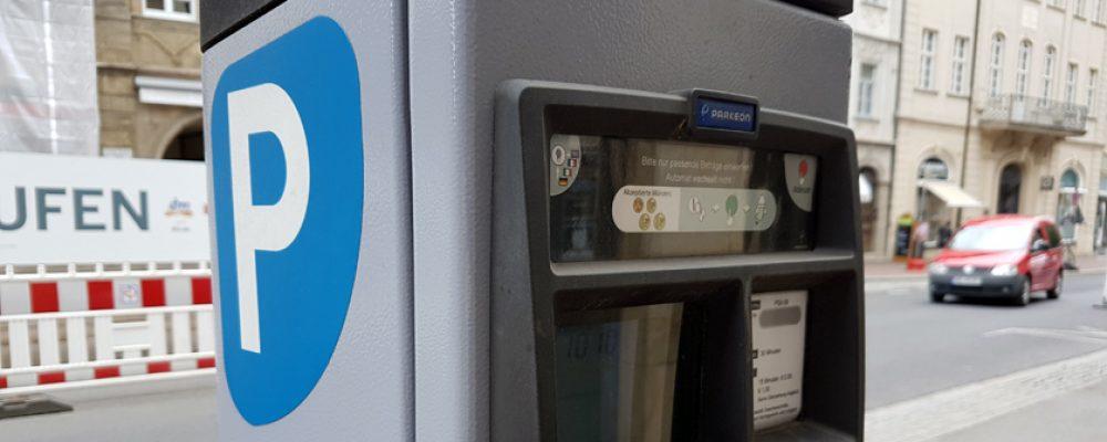 Leichtere Bedienung der Parkscheinautomaten in Bamberg