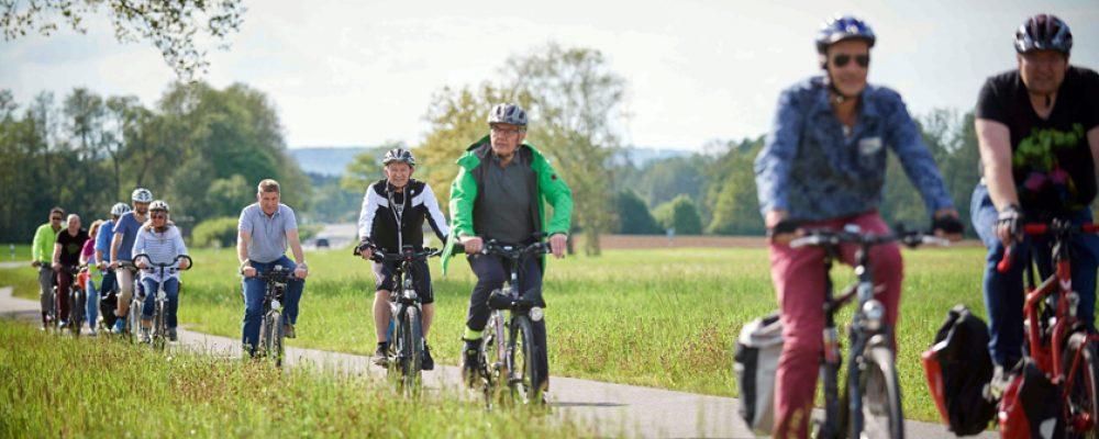 Mehr Radfahrer in und um Bamberg