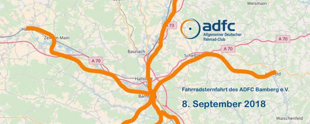 Jubiläums-Sternfahrt: 30 Jahre ADFC Bamberg