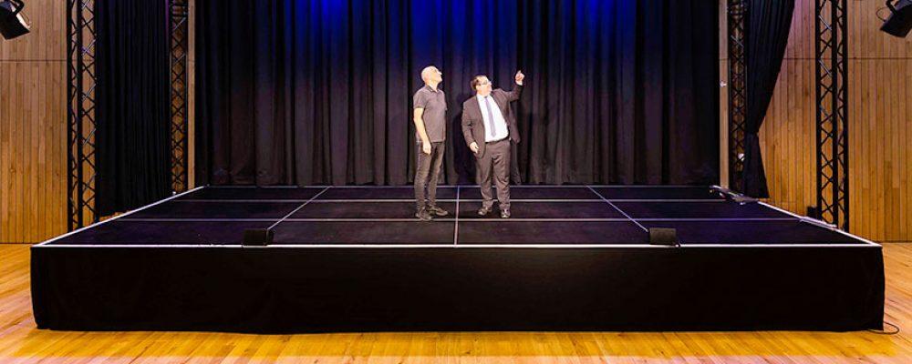 Eine neue Theaterbühne für den Kulturboden in Hallstadt