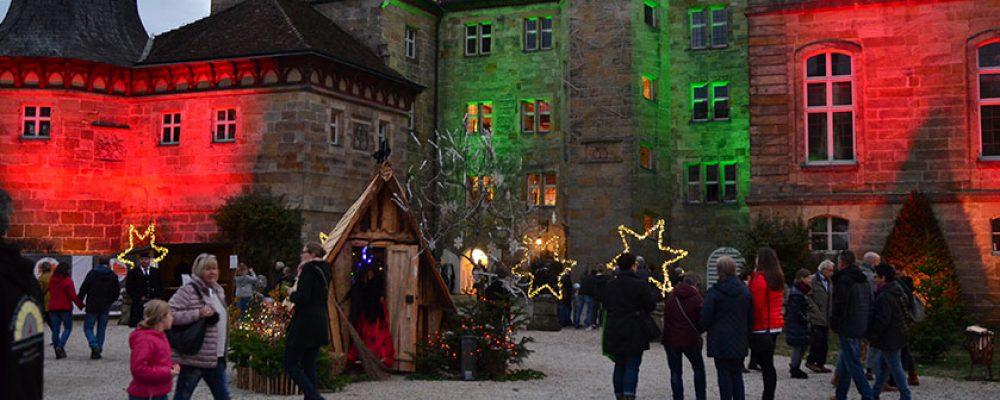 """Eine stimmungsvolle Veranstaltung: Die """"Winterszeit"""" auf Schloss Eyrichshof"""