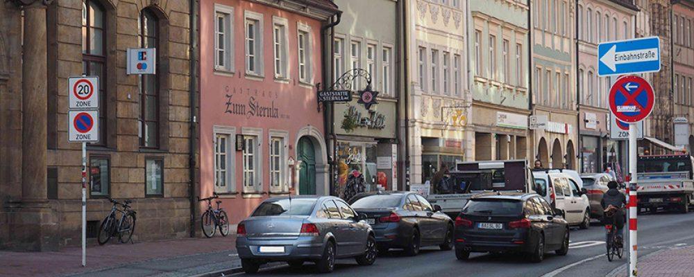 Ab 1. März gibt es Knöllchen in der Langen Straße