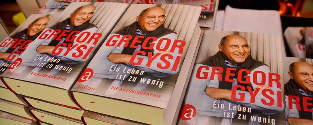 BamLit 2019: Gregor Gysi und seine Autobiografie