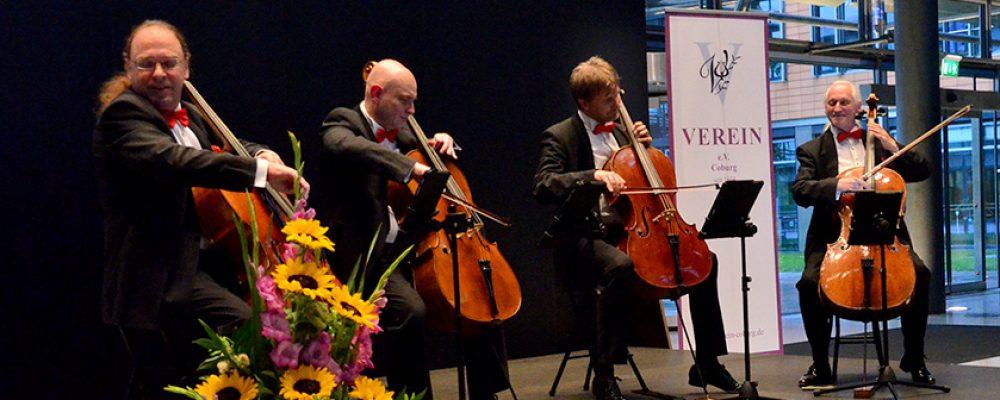 Rastrelli Cello-Quartett beendete die Konzertsaison vom Verein e. V. Coburg