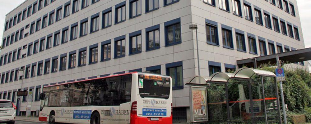 Das neue Bürgerrathaus in Bamberg
