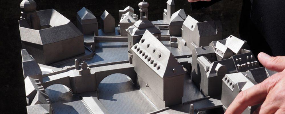 Ein Stadtmodell aus dem Metall-3D-Drucker