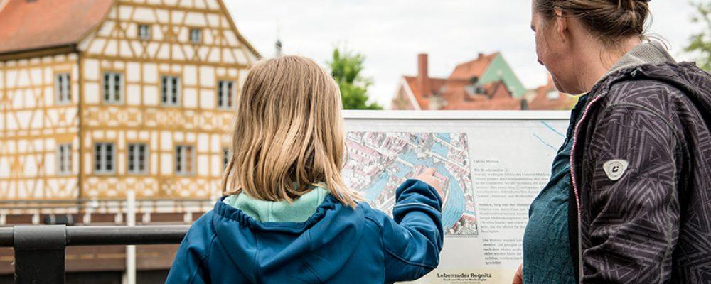 In den Ferien die Bamberger Flussgeschichte entdecken