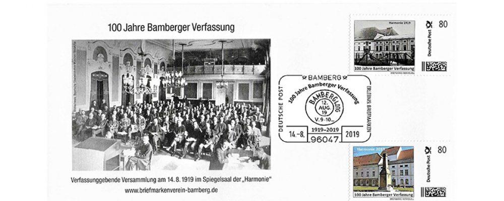 Sonderpostamt zu 100 Jahre Bamberger Verfassung