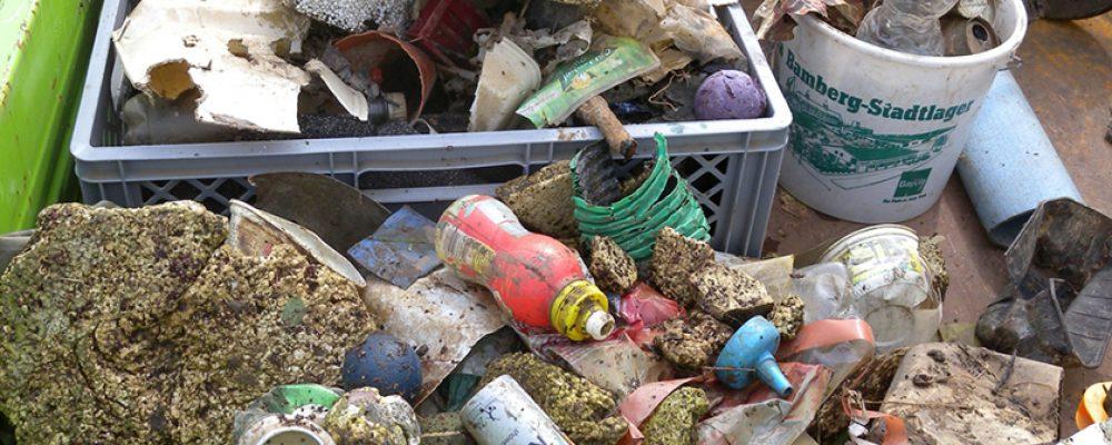 Gegen Plastikmüll in Fluss und See
