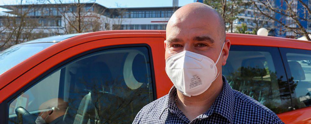 Busfahrer im Sonder-Einsatz: Unterstützung im Krankentransport