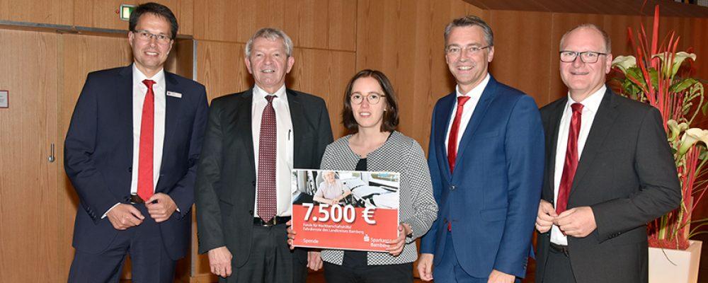 Landkreis Bamberg richtet Fonds für Nachbarschaftshilfen und Fahrdienste ein