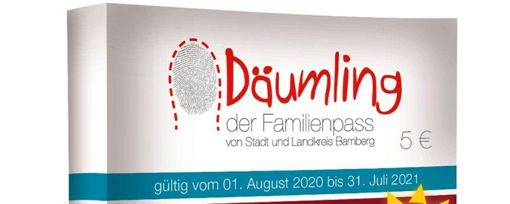 "Gerade noch rechtzeitig – der neue Familienpass ""Däumling"" erscheint am  1. August"