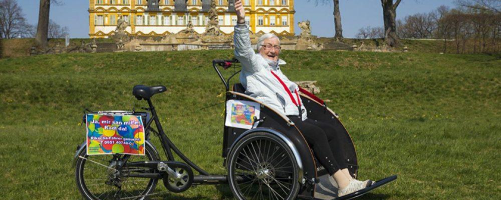 Rikscha-Fahrten für Seniorinnen und Senioren