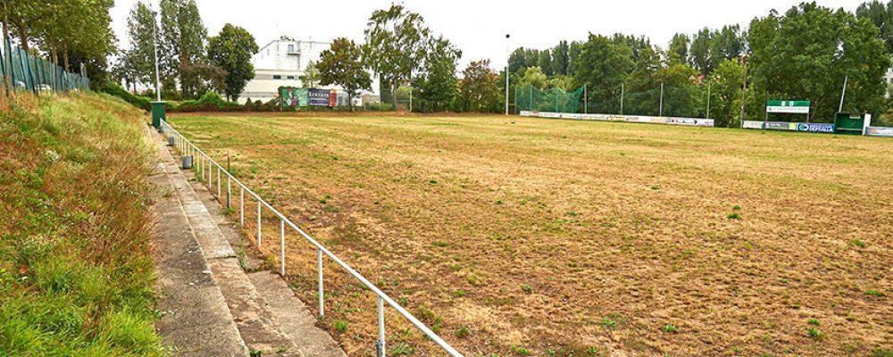 Baubeginn am FC-Wacker-Sportplatz
