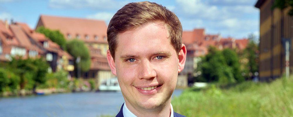 Jonas Glüsenkamp leitet die Klima- und Energieagentur