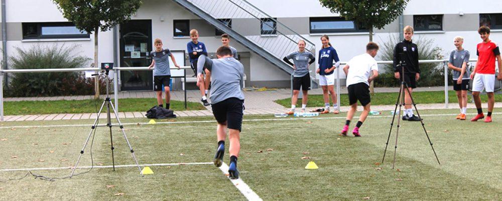Fußballer unterstützen Uni-Studie zum Sprint-Schlittentraining