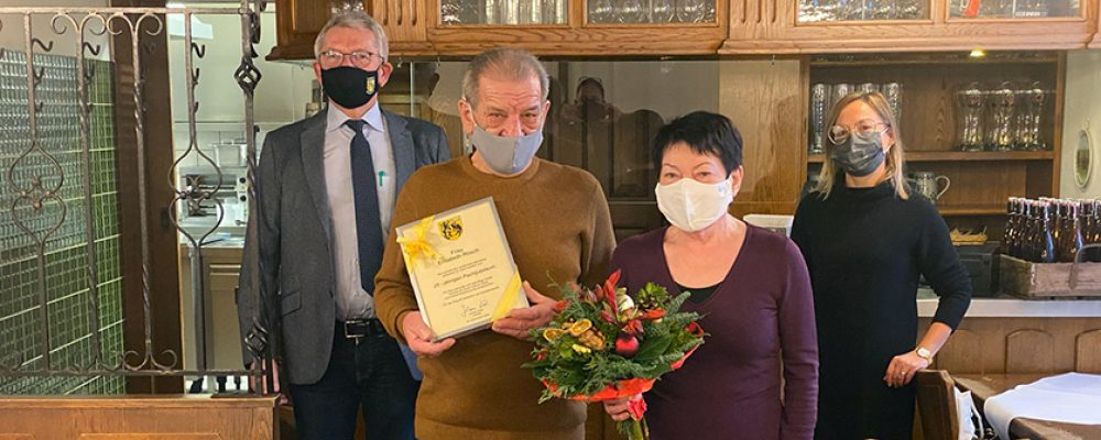 25 Jahre Pächterschaft Giechburg