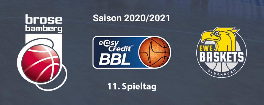 Brose Bamberg will gegen Oldenburg zurück in die Erfolgsspur