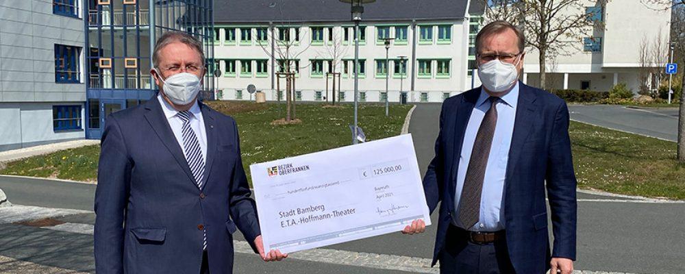 Bezirk Oberfranken erneuert Förderung des ETA Hoffmann Theaters