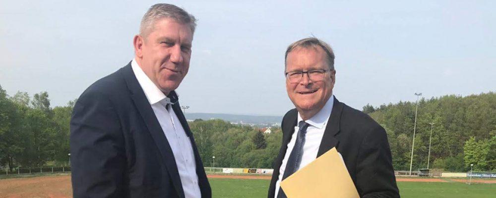 Sportpark: Tolle Nachricht für Gaustadt und ganz Bamberg