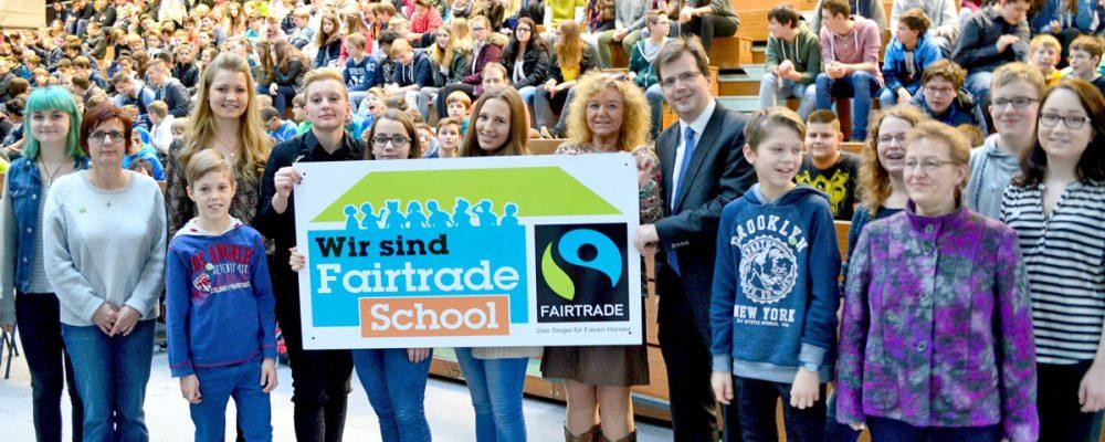 Graf-Stauffenberg-Realschule ist Fair-Trade-Schule