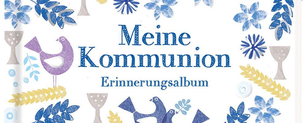 Buchtipp der Woche: Florina Herbein, Britta Teckentrup: Meine Kommunion – Erinnerungsalbum