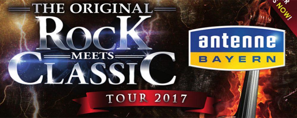 ROCK MEETS CLASSIC 2017  17. April 2017  20 Uhr  Brose ARENA Bamberg