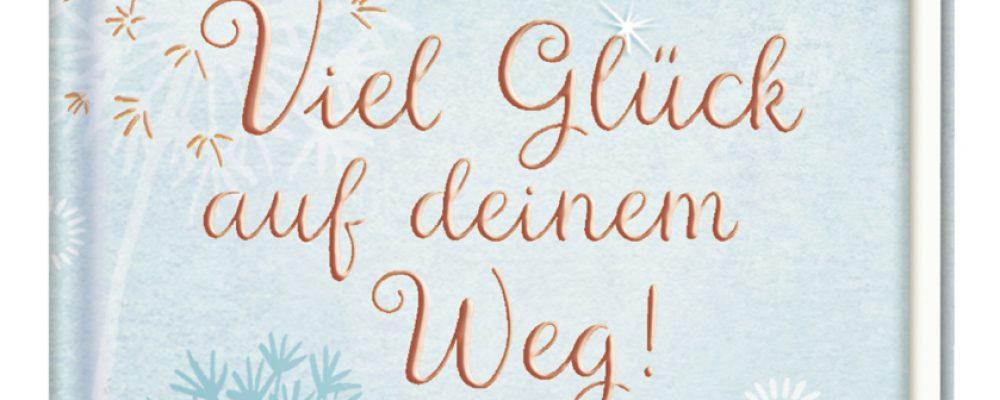 Buchtipp der Woche: Viel Glück auf deinem Weg! – Büchlein mit Armband