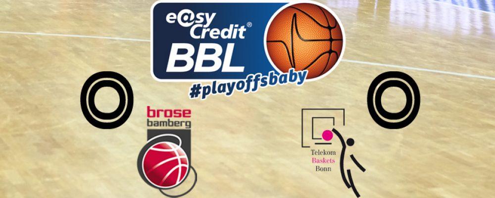 Bamberg sieht Rot: Playoff-Auftakt gegen Bonn