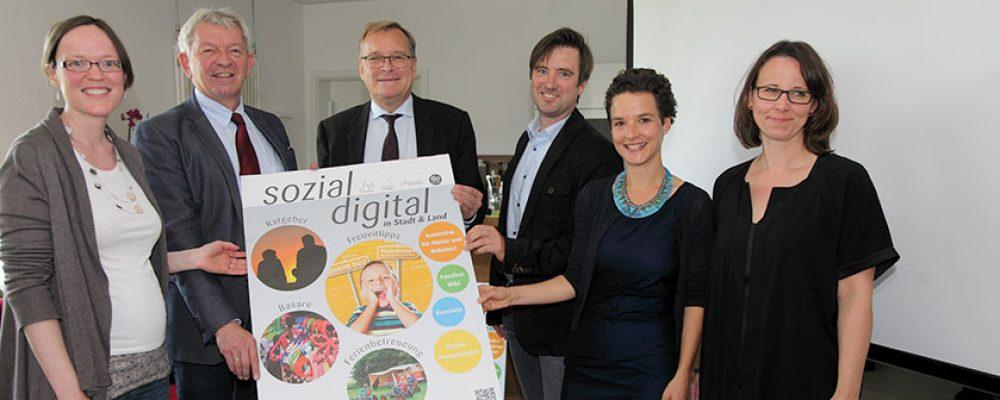 """Sozial digital in Stadt & Land"""