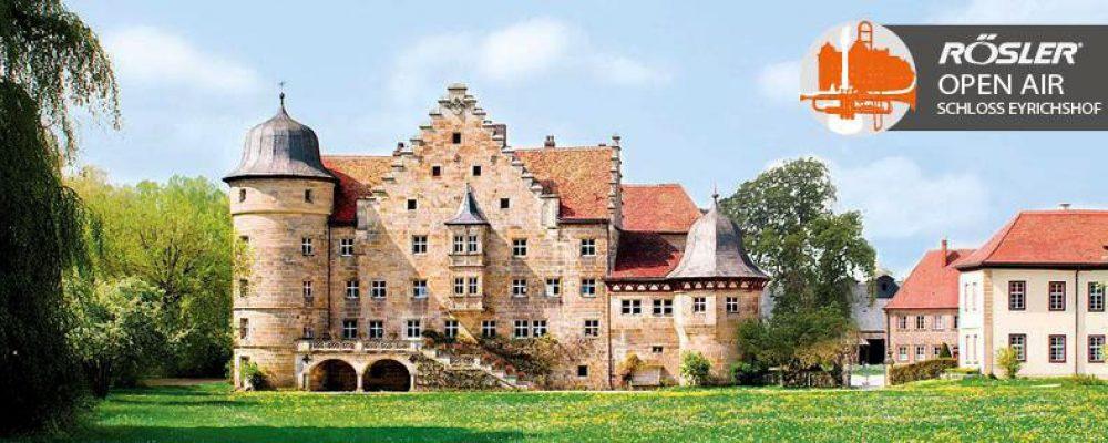 """Die Höhepunkte zum  """"Rösler Open Air Schloss Eyrichshof"""" wurden bekannt gegeben."""
