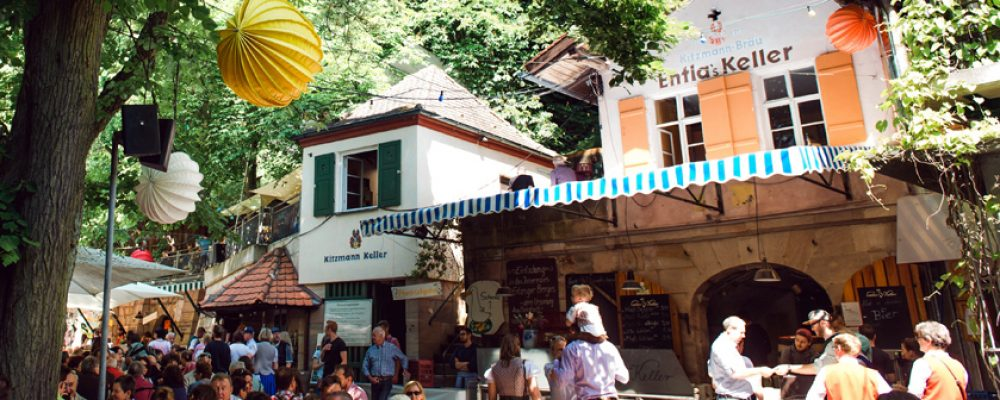 Bamberger Bier auf Erlanger Bergkirchweih