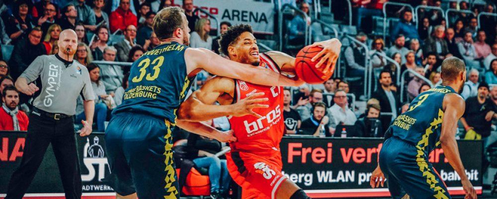 86:93! Starkes Duo Rice/Rubit reicht nicht gegen Oldenburg