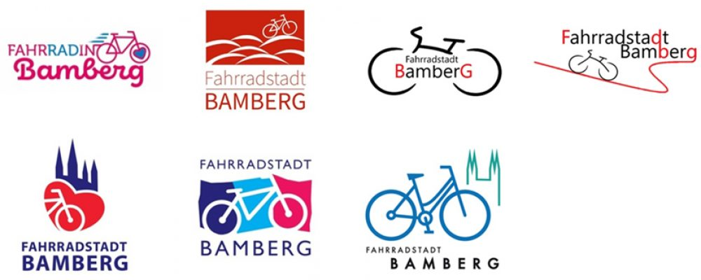 """Logo für die """"Fahrradstadt Bamberg"""" gesucht: Jetzt abstimmen!"""