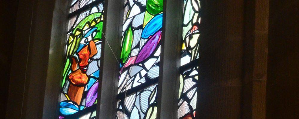 Lüpertz-Fenster für die Kirche St. Elisabeth