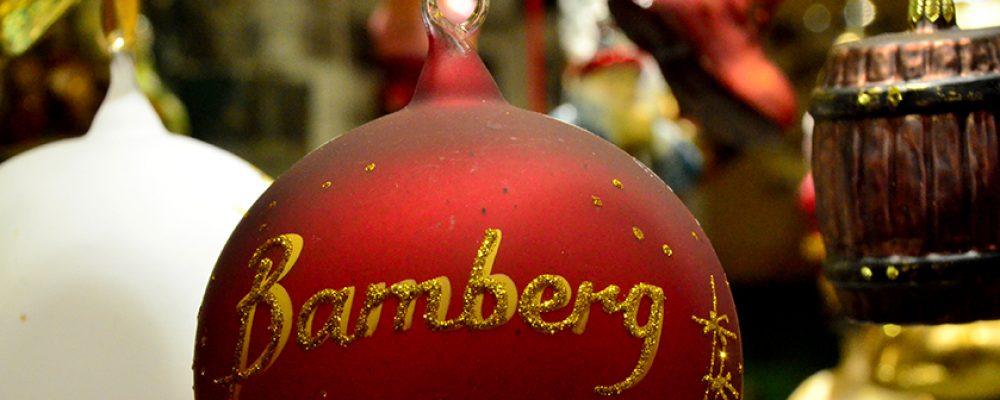 Bamberger Weihnachtsmarkt am Dienstag Abend feierlich eröffnet.