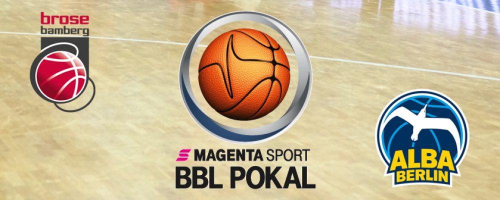 Neuauflage des Vorjahresfinales: Brose Bamberg empfängt ALBA BERLIN