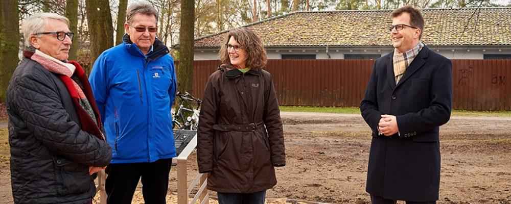 Erster Work-Out-Park am Volkspark eingeweiht