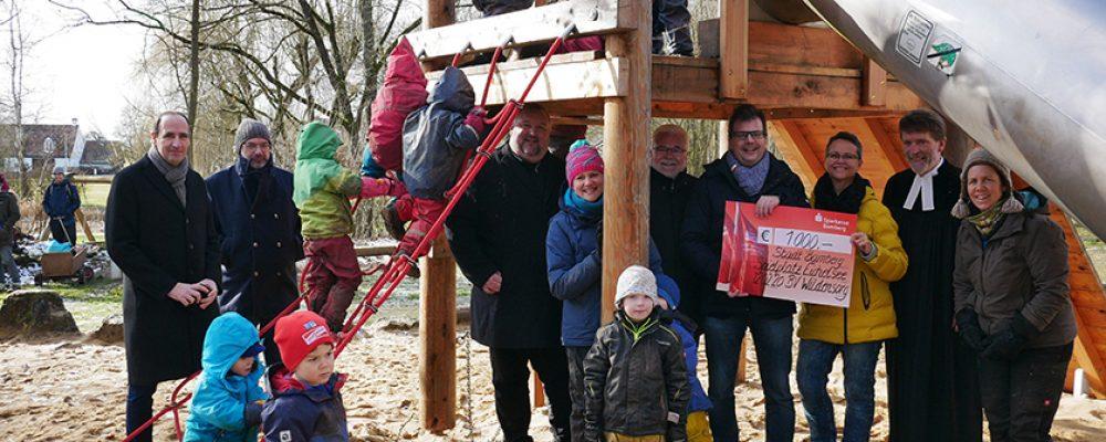 Spielplatz in Wildensorg hergerichtet