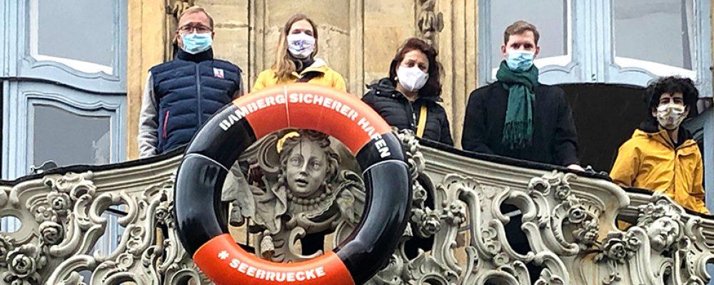 Stadt Bamberg erneuert Aufnahmebereitschaft von Flüchtlingen