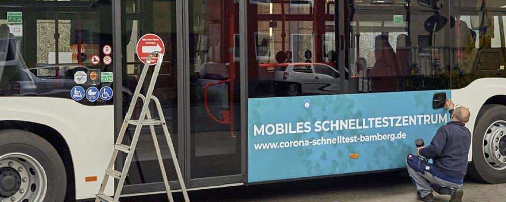 Startschuss für den Bamberger Schnelltest-Bus