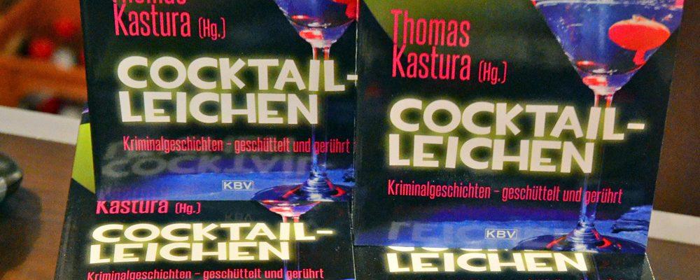 Cocktail-Leichen in der Buchhandlung Hübscher