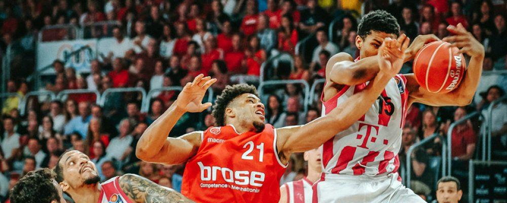 Positiver Playoff-Start: Brose ringt Bonn nieder