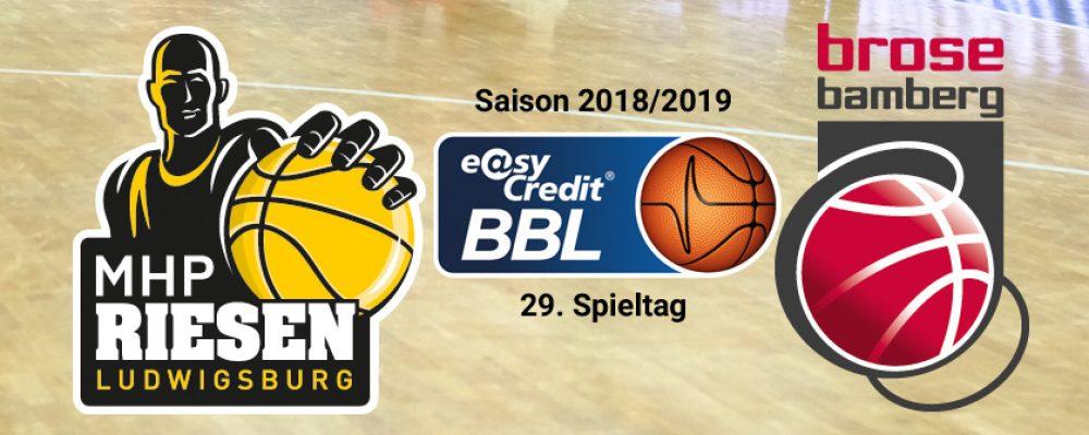 Brose Bamberg verliert in Ludwigsburg
